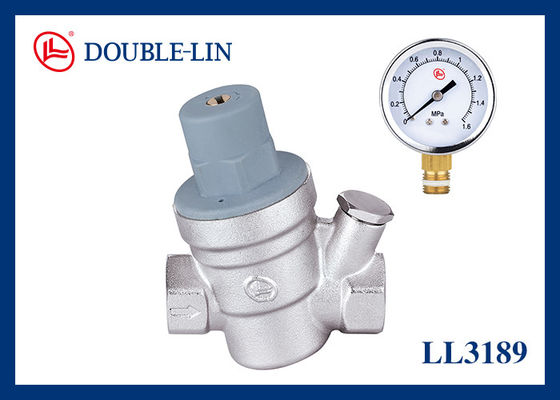 16 Bar Diaphragm Pressure Reducing HVAC Valve